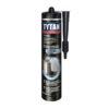 Tytan klampiarsky tmel strieborný je zmes bitúmenových živíc a hliníkových pigmentov v organických rozpúšťadlách.