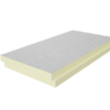 PIR doska je tepelná izolácia s najvyšším tepelným odporom pri minimálnej hrúbke.